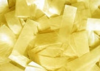 SFAT Confetti RECTANGULAR 50x20 mm Gold - 10 kg